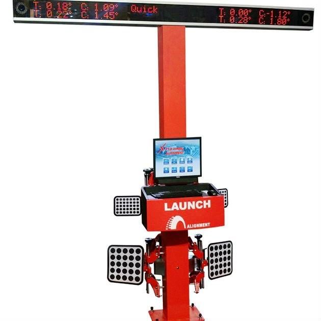 launch alignment machine