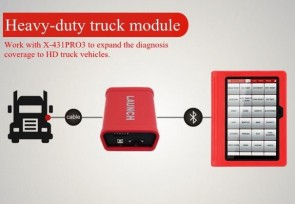 LAUNCH X431 PRO3 scanner for CAR and commercial vehicle